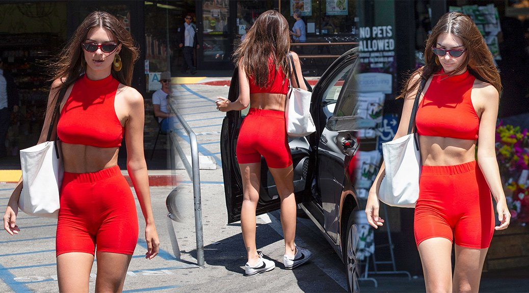 Emily Ratajkowski - Hot Ass Candids in Los Angeles