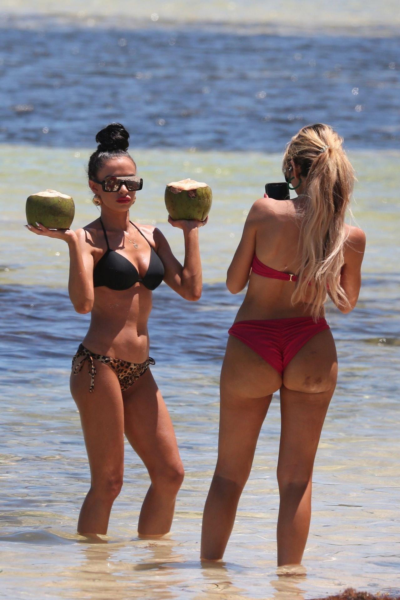 Farrah Abraham Teeny Thong Bikini