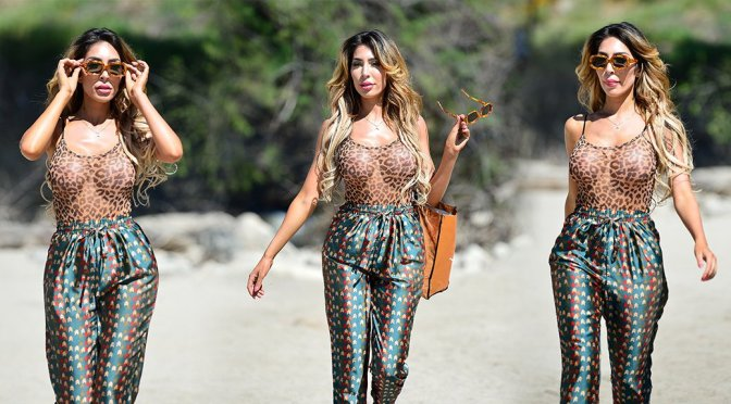 Farrah Abraham – Sexy Candids at Lake Elsinore