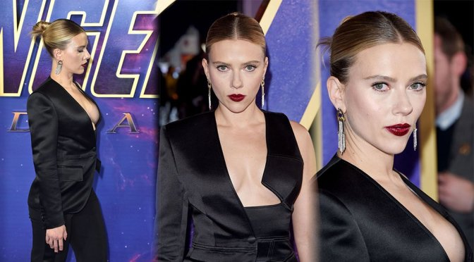 "Scarlett Johansson – ""Avengers Endgame"" Fan Event in London"