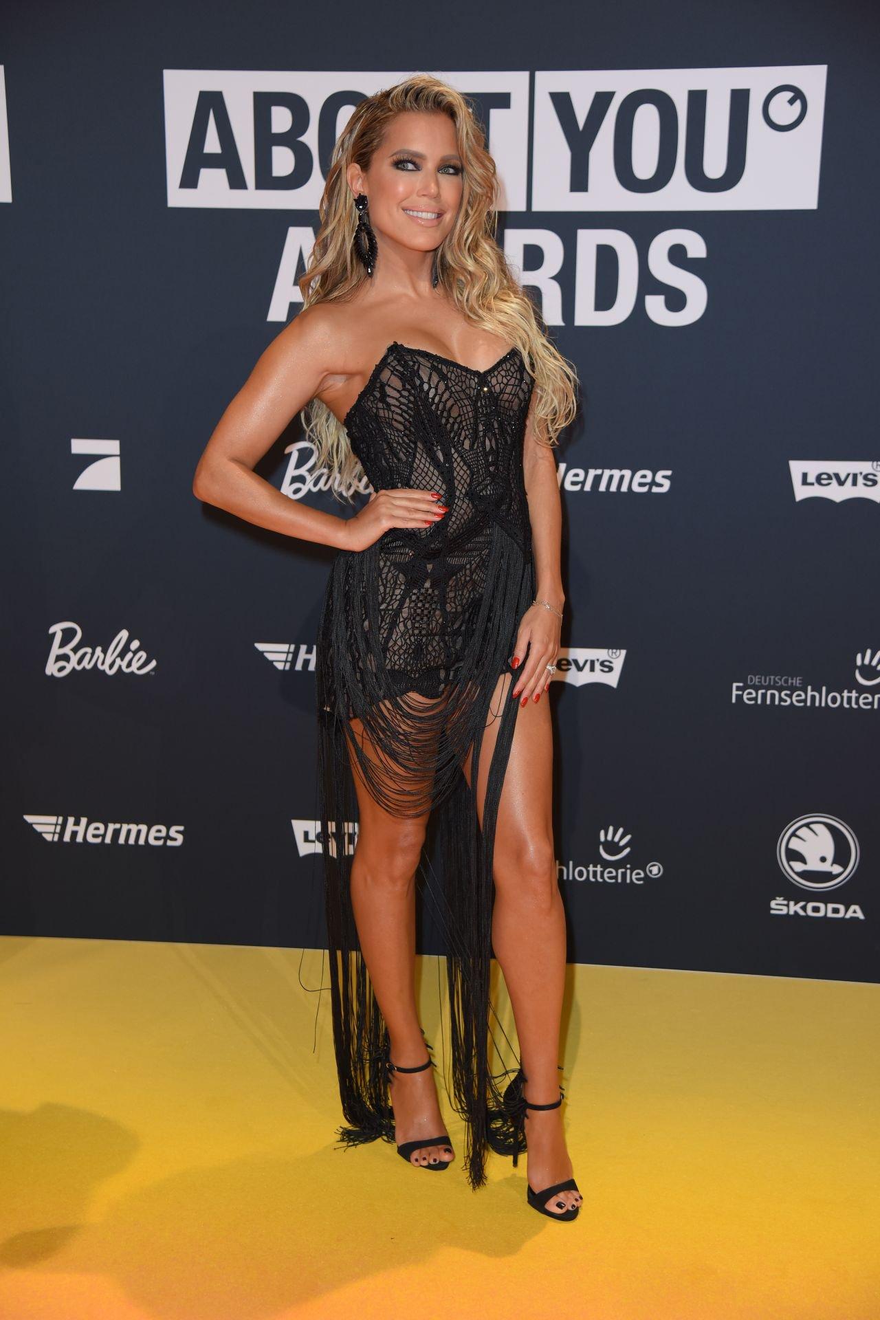Sylvie Meis Sexy Dress ()