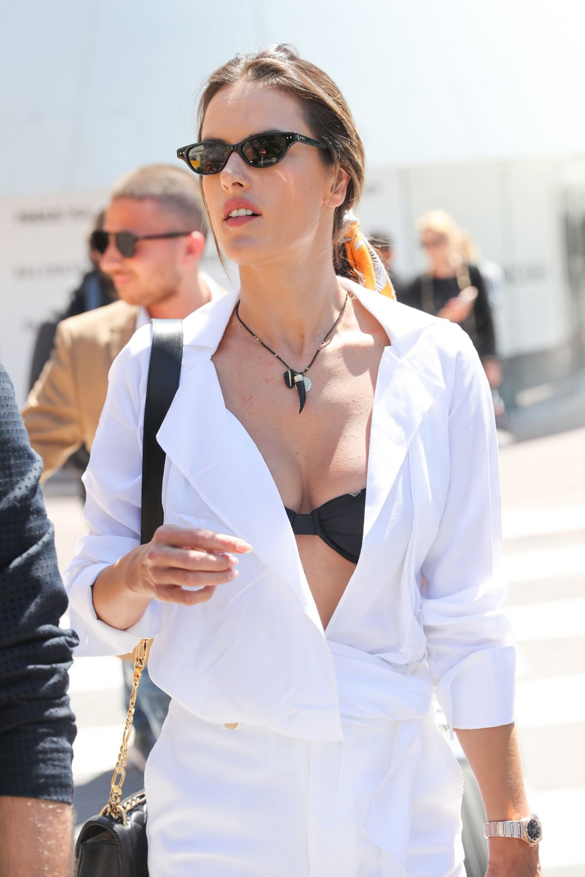 Alessandra Ambrosio Sexy Boobs