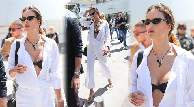 Alessandra Ambrosio – Sexy Candids in Cannes
