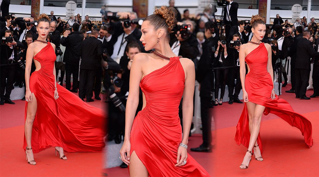 "Bella Hadid - ""Pain and Glory"" Premiere in Cannes"