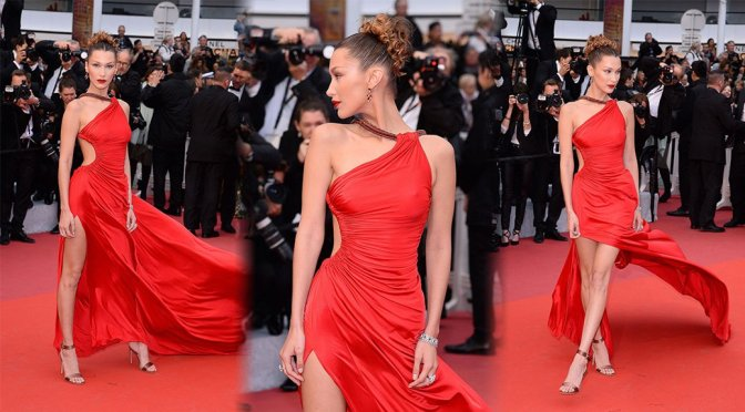 "Bella Hadid – ""Pain and Glory"" Premiere in Cannes"