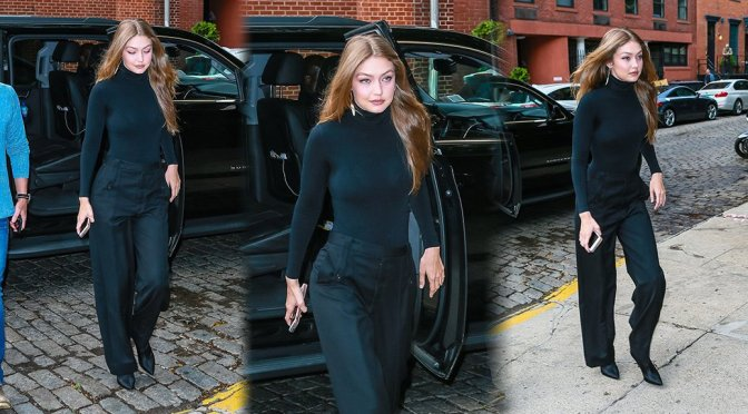 Gigi Hadid – Sexy Candids in New York