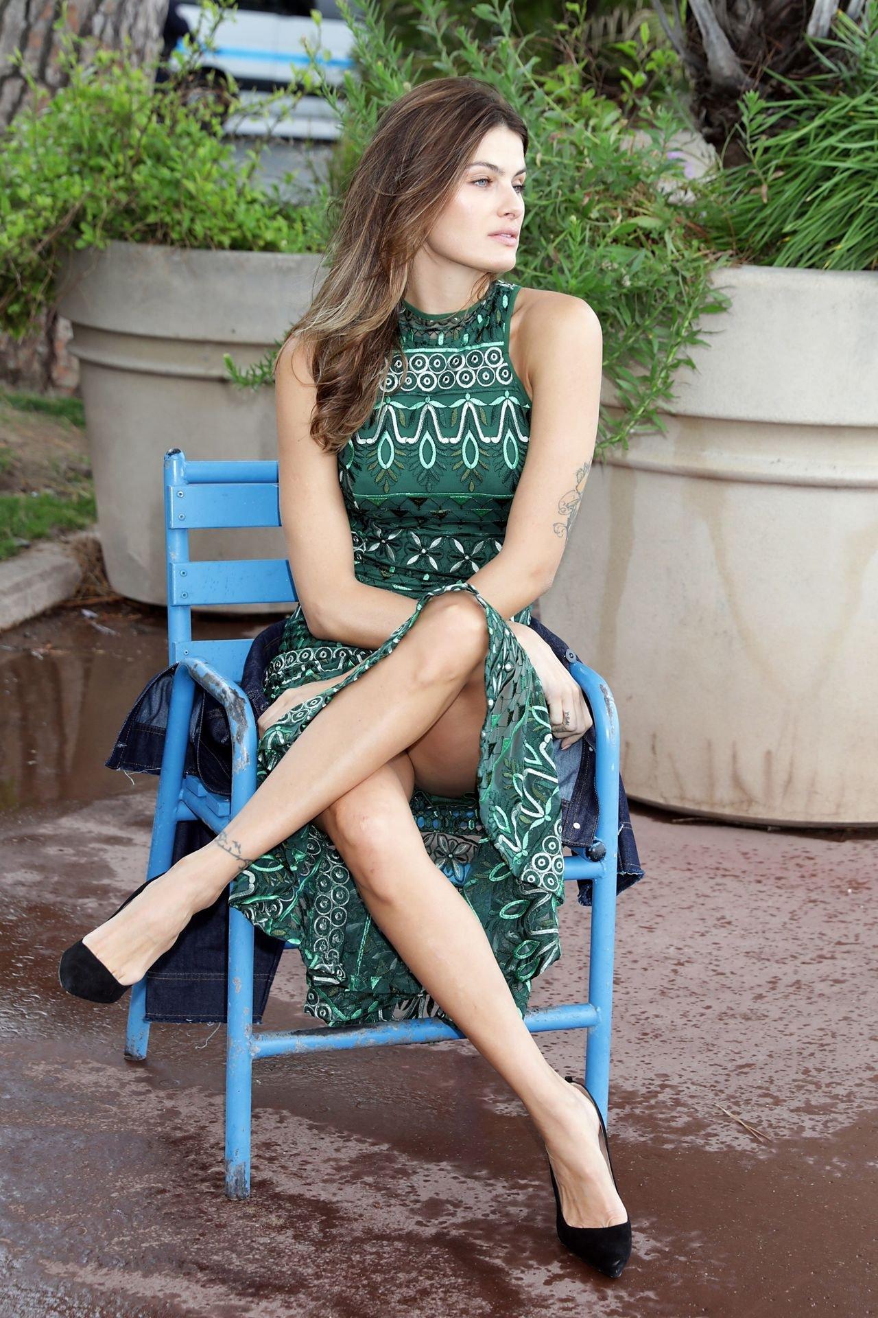 Isabeli Fontana - Pantyless Upskirt in Cannes | Hot Celebs