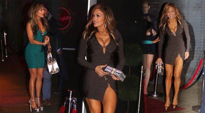 "Jennifer Lopez – Sexy Candids on the ""Hustlers"" Movie Set in New York"