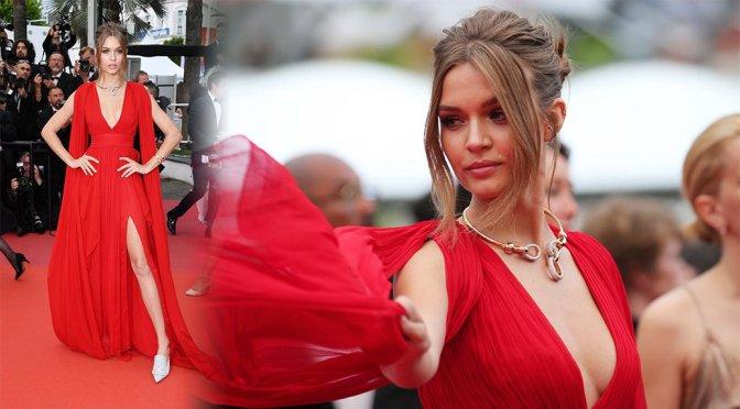 "Josephine Skriver – ""Le Belle Epoque"" Premiere in Cannes"