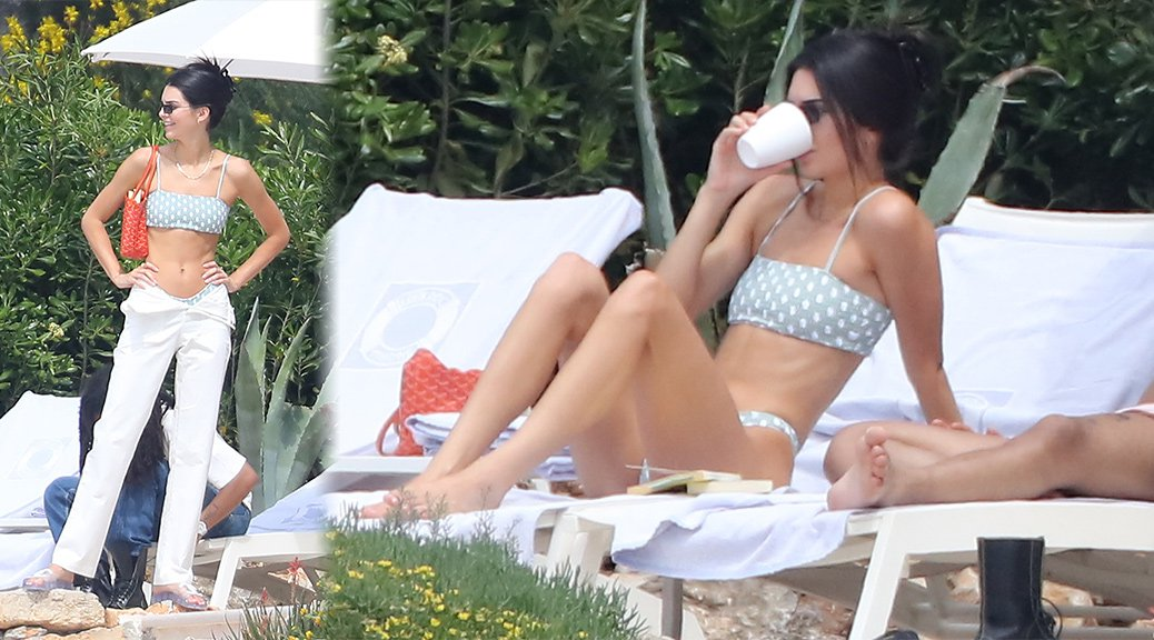 Kendall Jenner - Bikini Candids at Hotel du Cap-Eden-Roc in Antibes