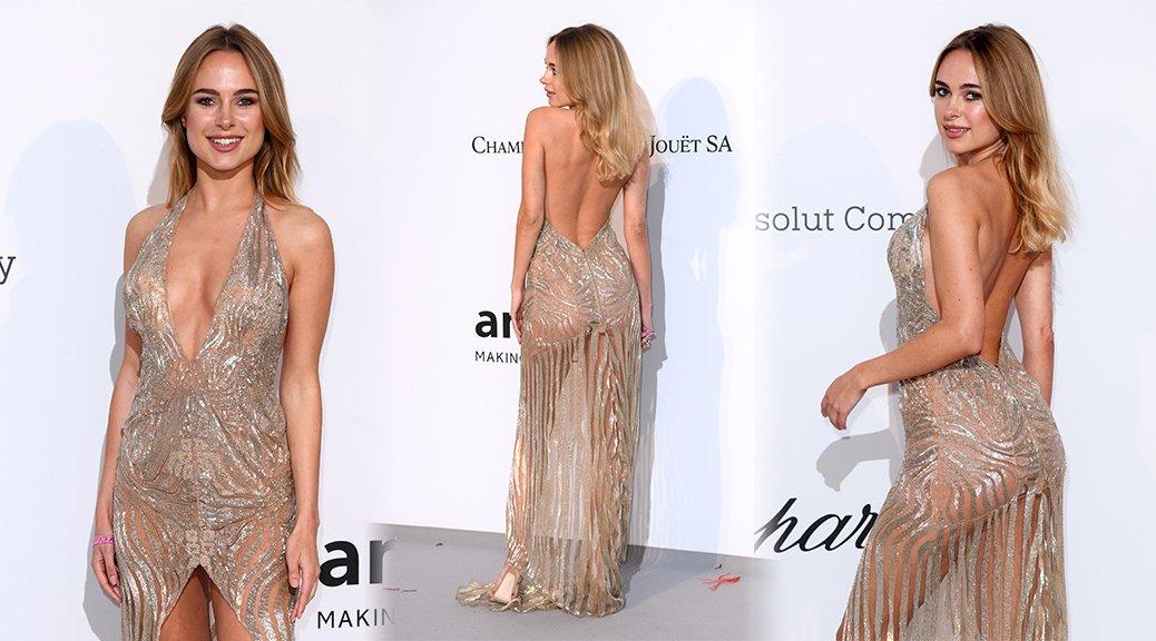 Kimberley Garner - amfAR Gala 2019 in Cannes