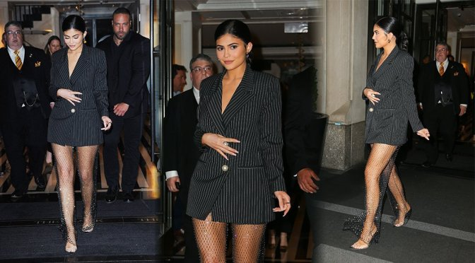 Kylie Jenner – Sexy Legs in New York