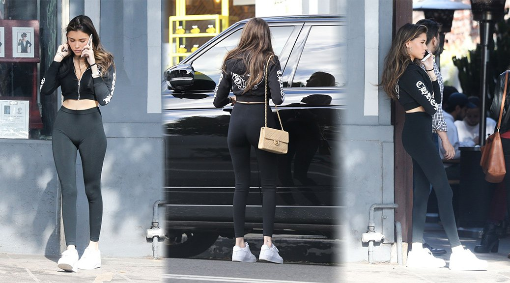 Madison Beer - Sexy Ass in Leggings in Los Feliz