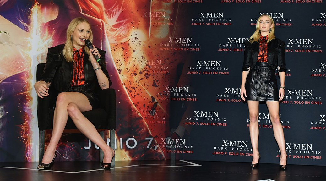 "Sophie Turner - ""X-Men: Dark Phoenix"" Photocall & Press Conference in Mexico"