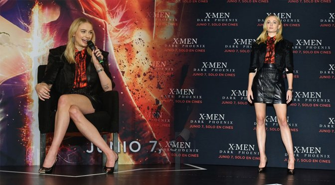 "Sophie Turner – ""X-Men: Dark Phoenix"" Photocall & Press Conference in Mexico"
