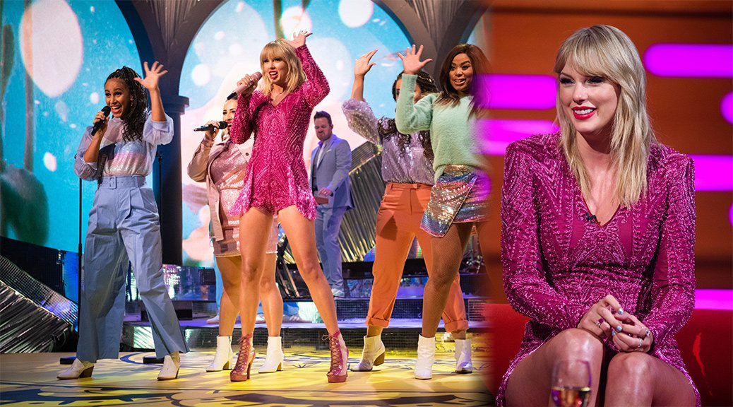 "Taylor Swift - Sexy Legs on ""The Graham Norton Show"" in London"