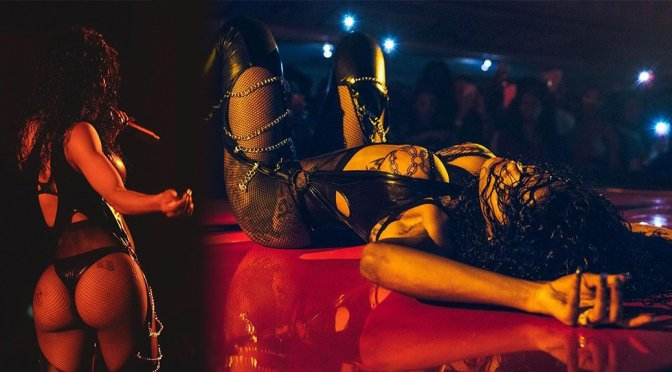 Teyana Taylor – sexy on Stage in New York