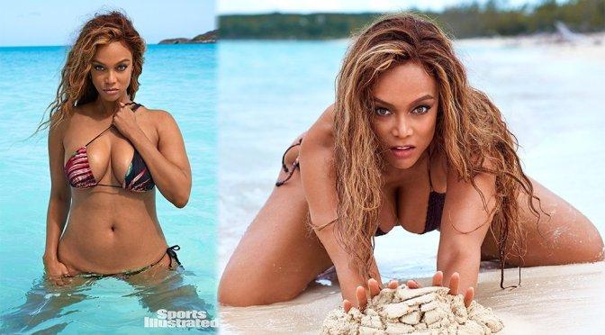 Tyra Banks – Sports Illustrated Swimsuit 2019 Photoshoot
