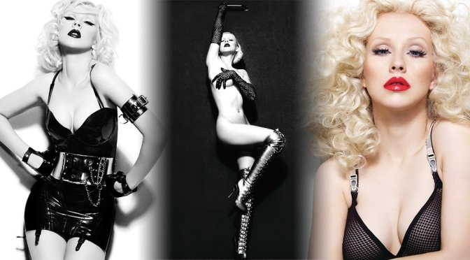 Christina Aguilera – Bionic Album 2010 Photoshoot