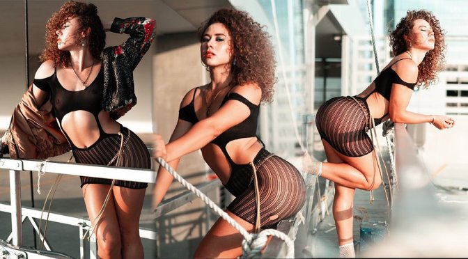 Dora Madison Burge – Sexy See-Through Photoshoot