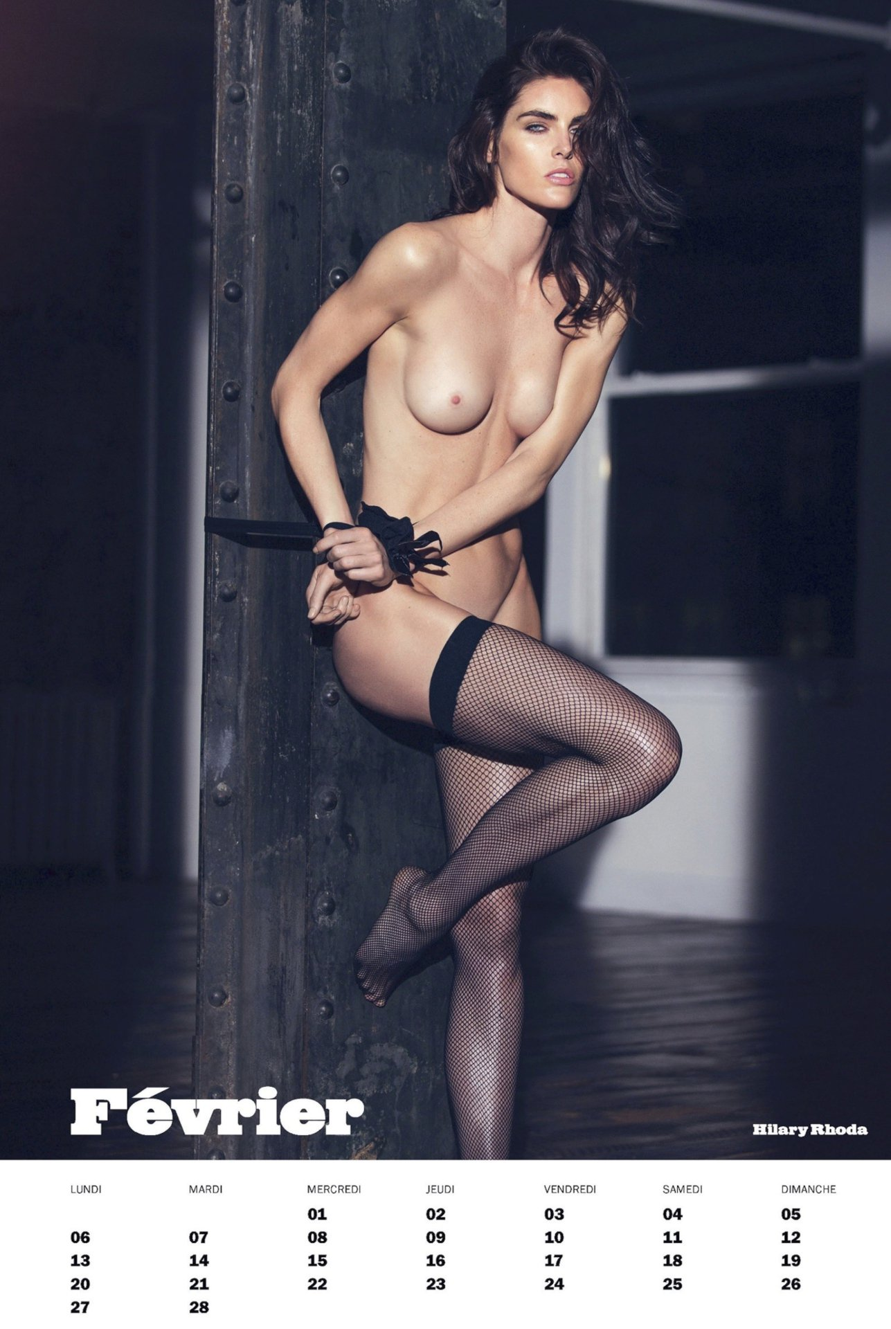Hilary Rhoda Topless