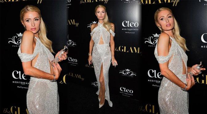 Paris Hilton – The Glam App Launch in Los Angeles