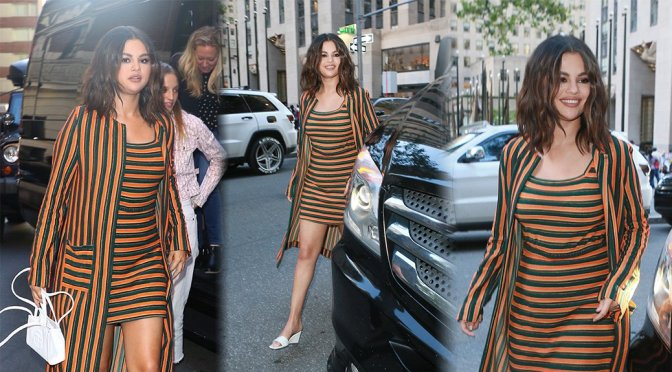 Selena Gomez – Sexy at August Wilson Theatre in New York