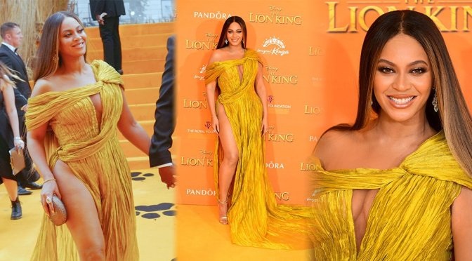 """Beyonce – """"The Lion King"""" Premiere in London"""