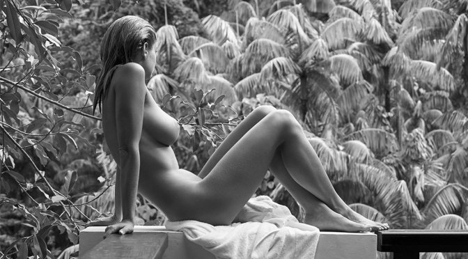 Genevieve Morton Naked Private Island Photoshoot