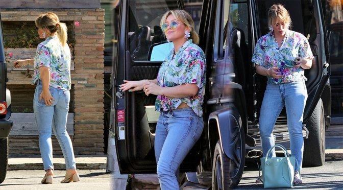 Hilary Duff – Sexy Ass in Studio City
