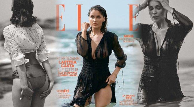 Laetitia Casta – Elle Magazine See-Through Photoshoot (July 2019)