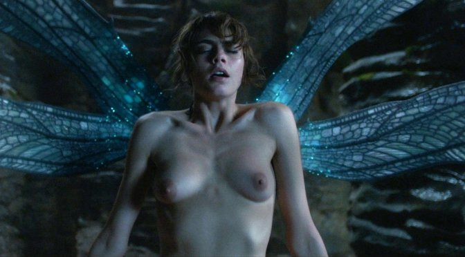"Cara Delevingne – ""Carnival Row"" Topless Video (NSFW)"