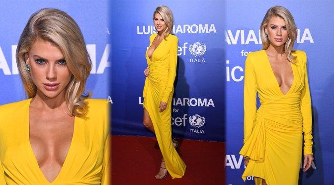 Charlotte McKinney – UNICEF Summer Gala in Porto Cervo