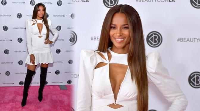 Ciara – Beautycon Los Angeles 2019 Pink Carpet