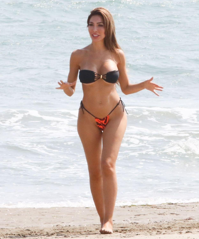 Farrah Abraham Sexy Thong Bikini