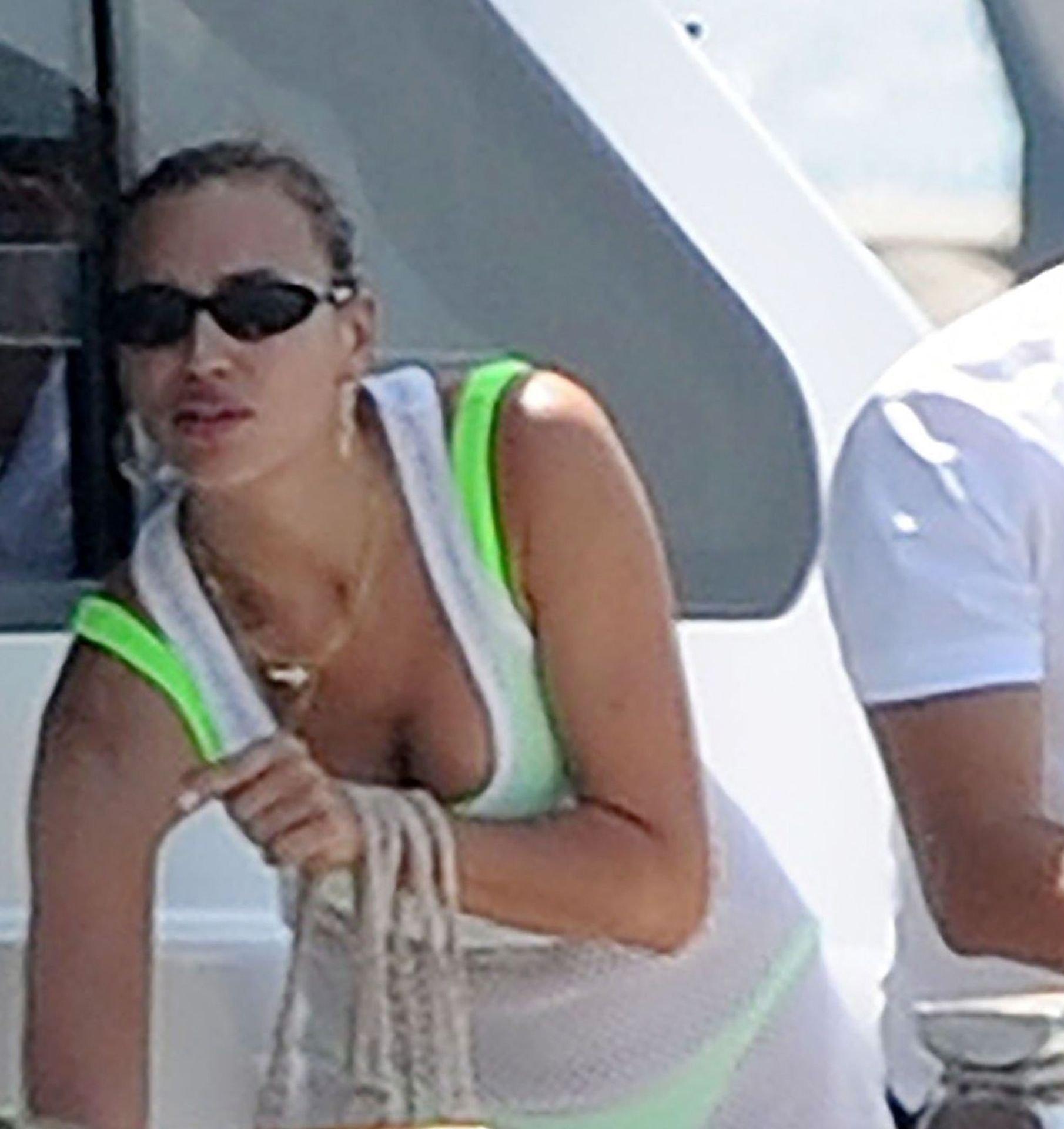 Irina Shayk Thong Bikini