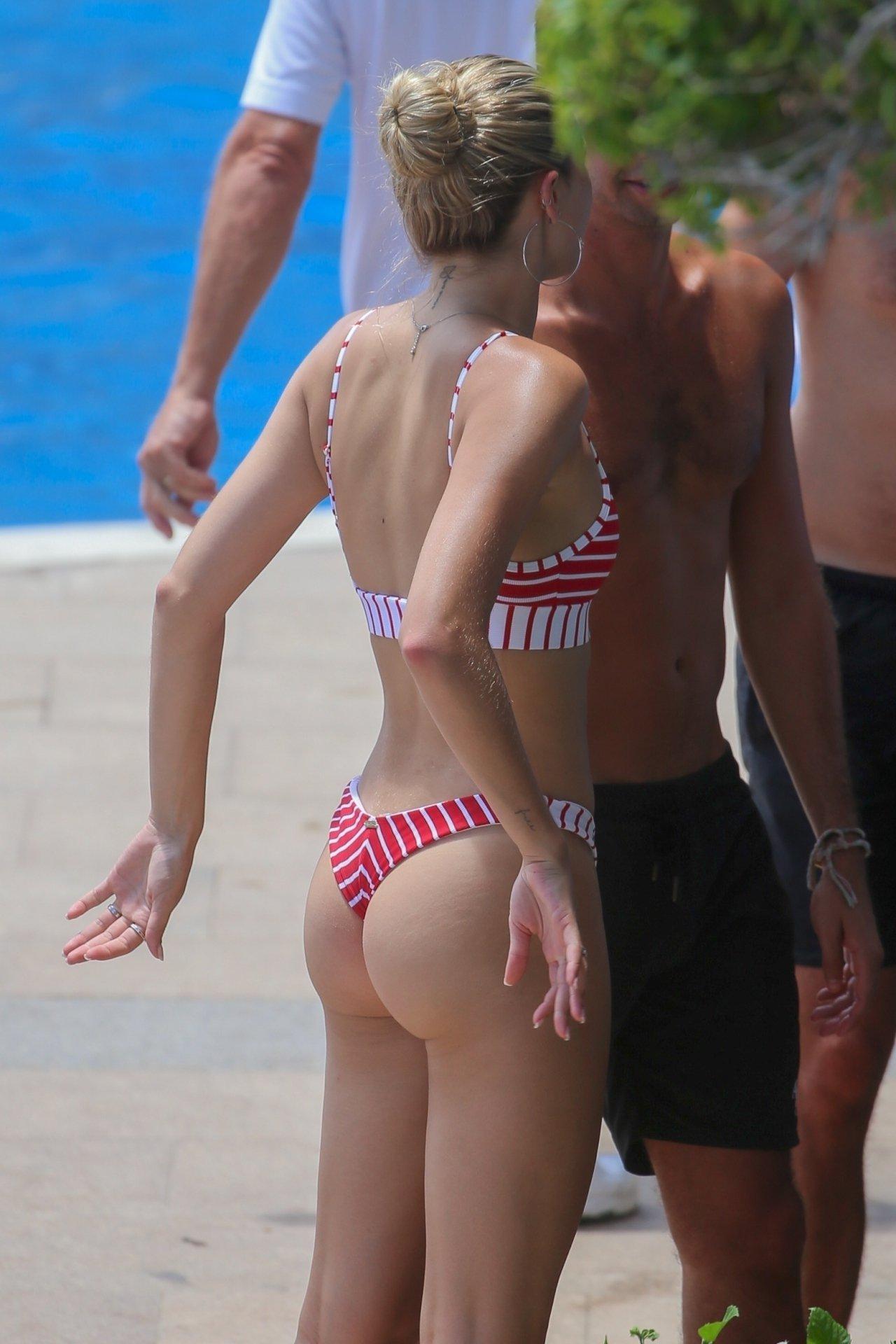 Josie Canseco Thong Bikini