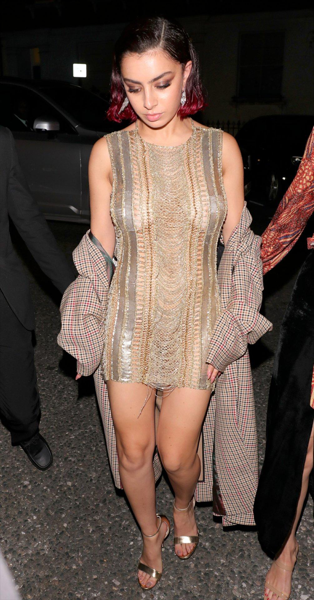 Charli Xcx Braless Breasts