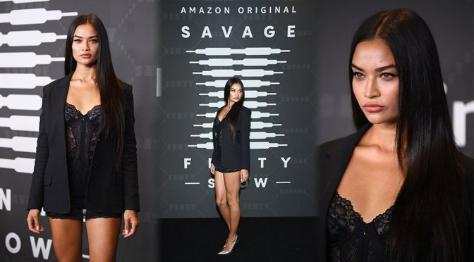 Shanina Shaik – Savage X Fenty Show Presented By Amazon Prime Video in Brooklyn
