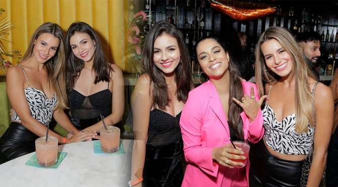 "Victoria Justice & Madison Reed – ""A Little Late with Lilly Singh"" Premiere Event in Los Angeles"
