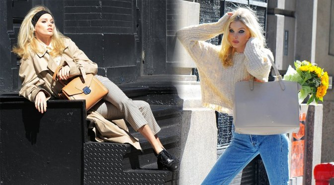 Elsa Hosk – Sexy Photoshoot Candids in New York