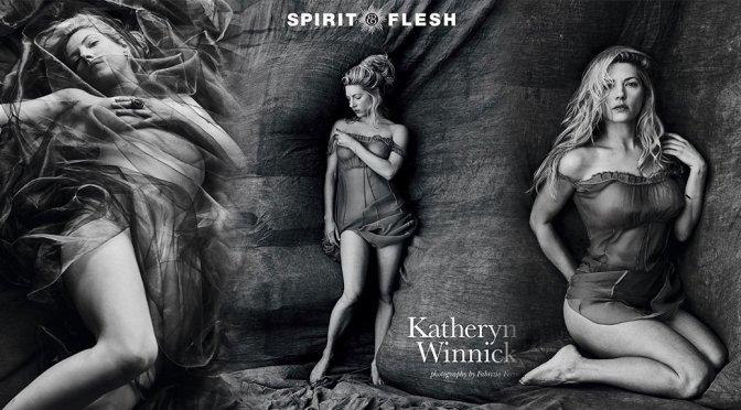 Katheryn Winnick – Spirit & Flesh Magazine Braless Photoshoot