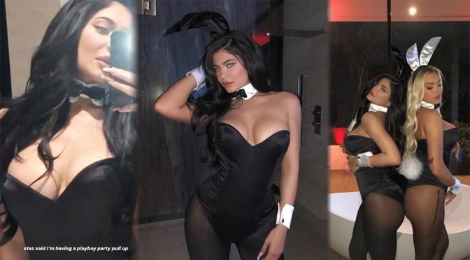 Kylie Jenner Hot As Playboy Bunny