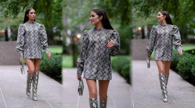 Olivia Culpo – Leggy Candids in Tribeca