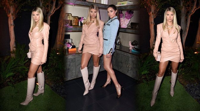 Sofia Richie – Sexy Legs at Vince Camuto's Sunset Soiree