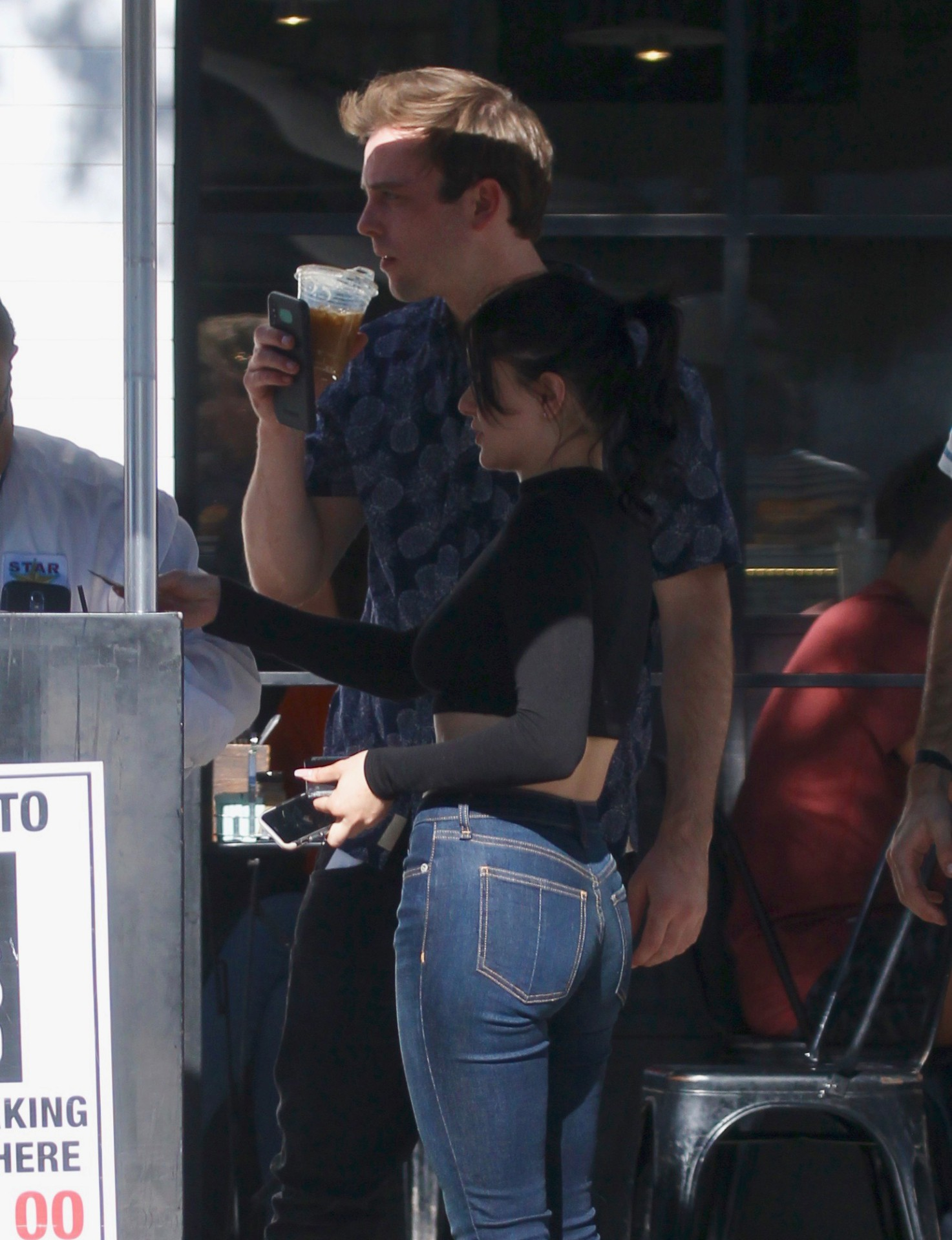 Ariel Winter Tight Jeans