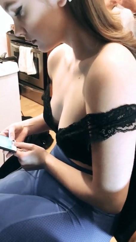 Barbara Palvin Sexy Boobs
