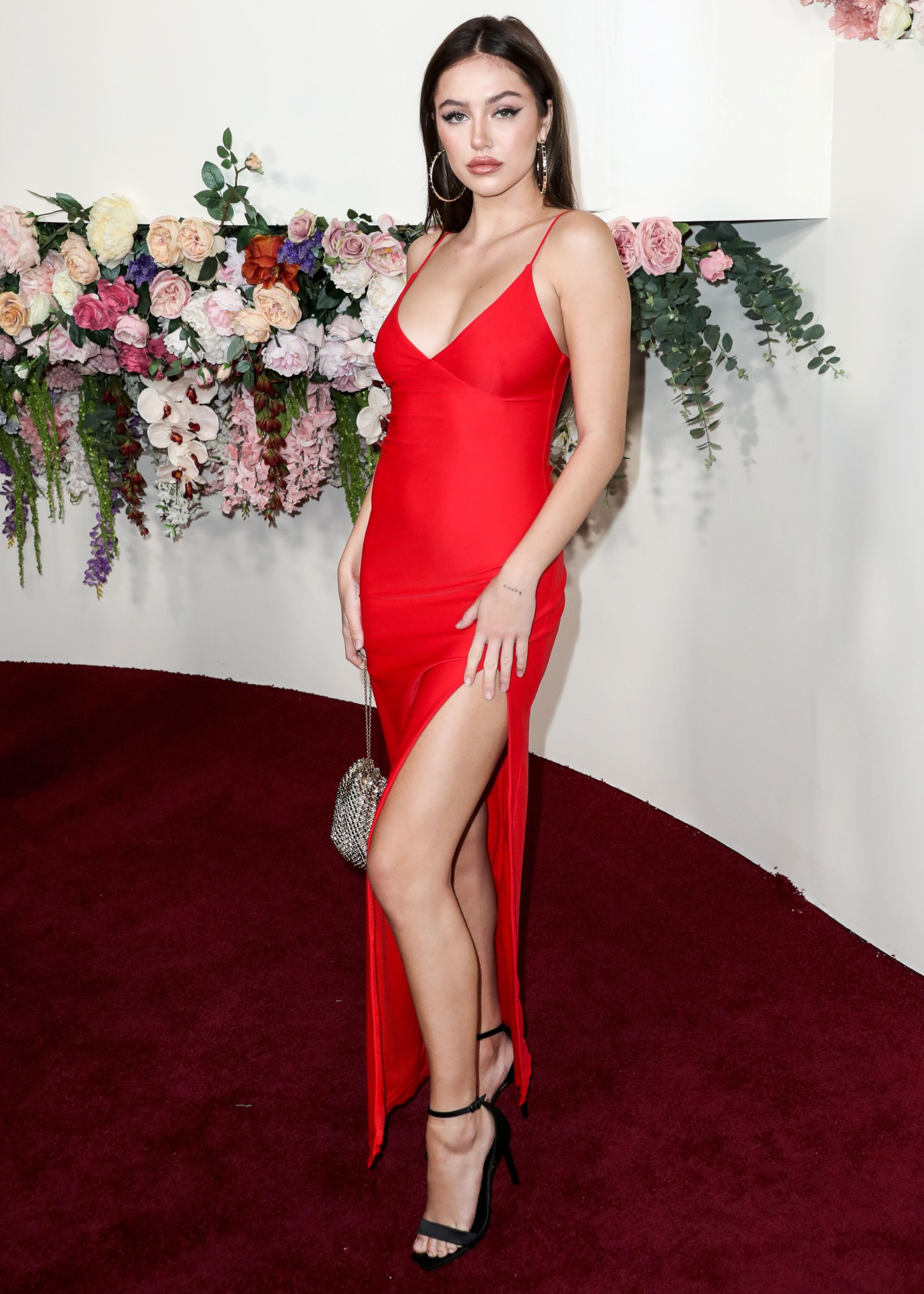 Delilah Belle Hamlin Sexy Red Dress