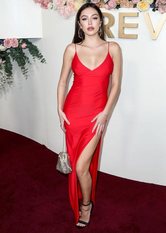 Delilah Belle Hamlin Sexy Red Dress
