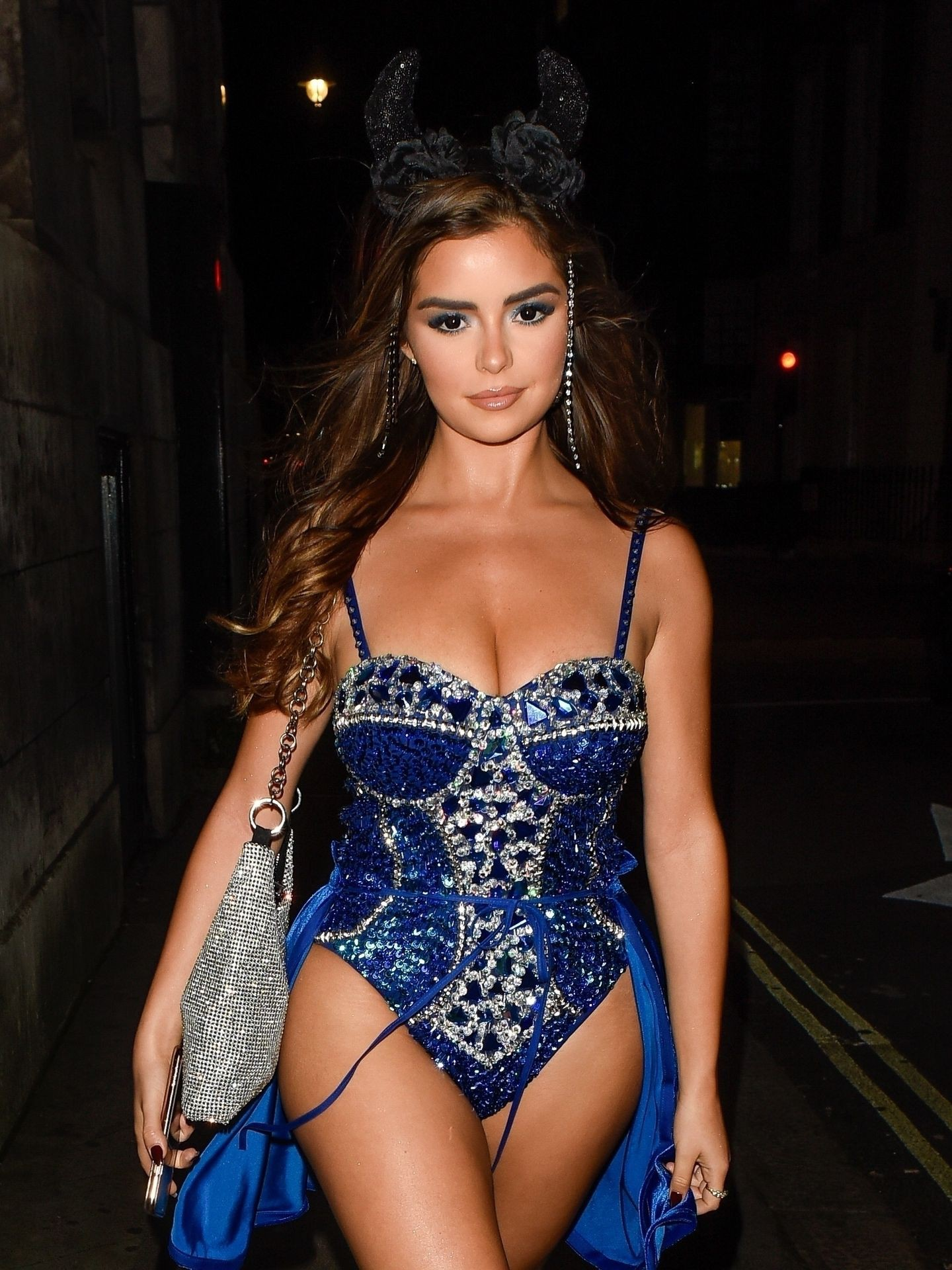 Demi Rose Mawby Halloween Hot Outfit